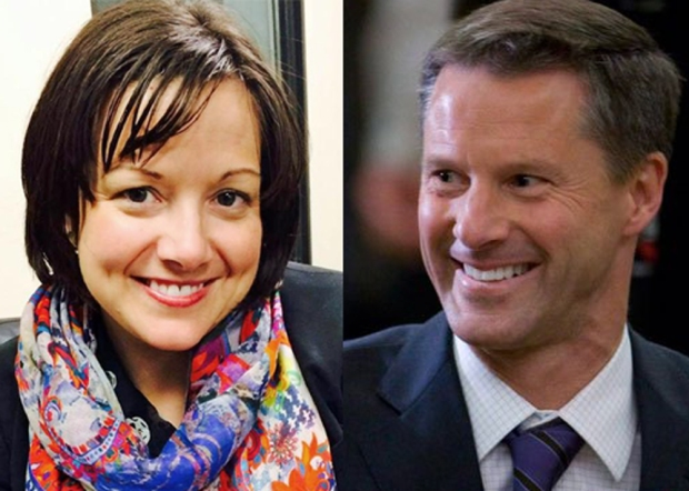 Jenni Byrne and Nigel Wright; truth is actually stranger than fiction.
